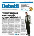 Kaivosalan kehittäminen ja Suomen talous tarvitsevat mandaatin muutosnavigaattorille