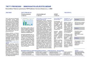 EU-palkittu TKTT innovaatiojärjestelmänä - Case: Siivous- ja kotitalousala
