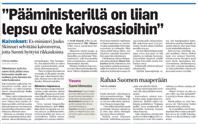 Aamulehti 17.3.2012