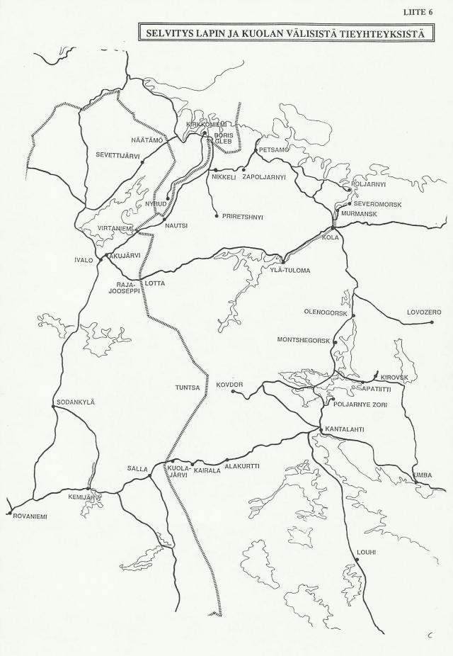 """E18-tien kansainvälinen kehittämisprojekti Matkalla Pietariin. Kirjoittaja keskittyi myöhemmin etenkin Sallan käytävän kehittämiseen, jossa saavutettiin """"läpimurto"""" vuonna 1996."""