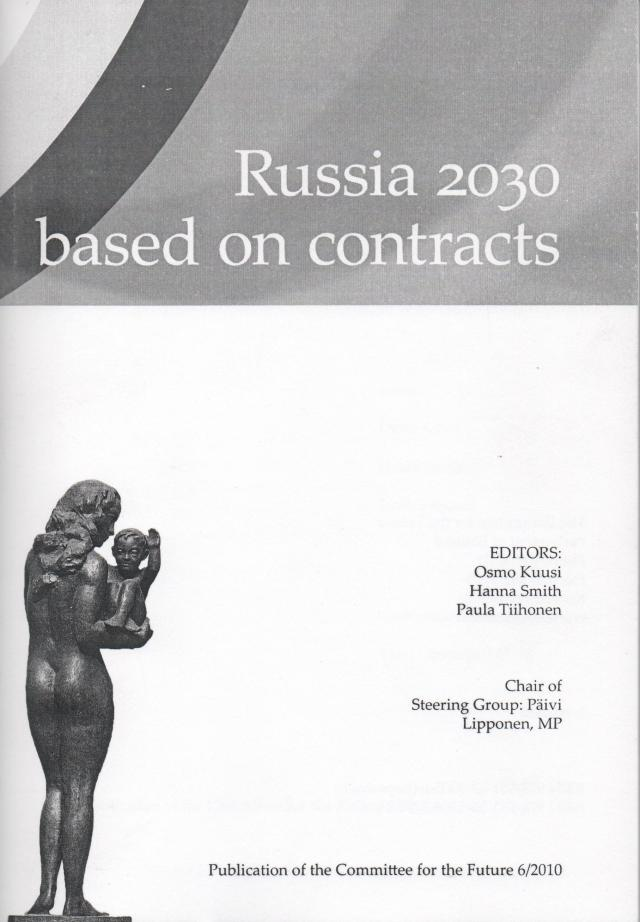 Publication: Russia 2030 based on contracts