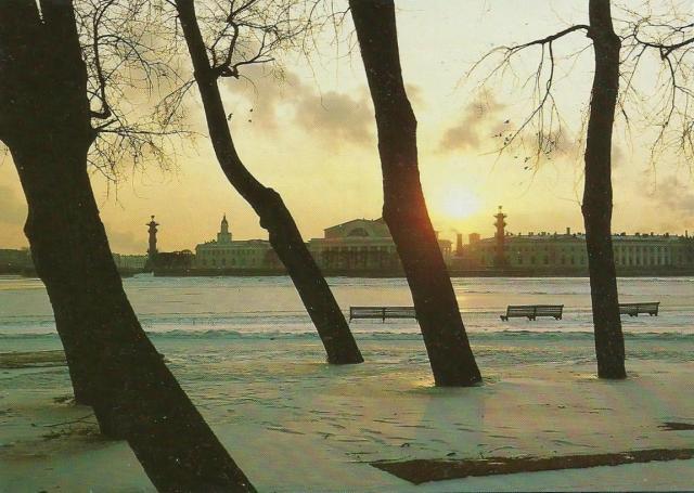 Matkalla Pietariin, E18-tien kansainvälinen kehittämisprojekti. Pietari 3.2.1993. Valokuva Yrjö Myllylä.